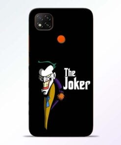 The Joker Face Redmi 9 Back Cover - CoversGap