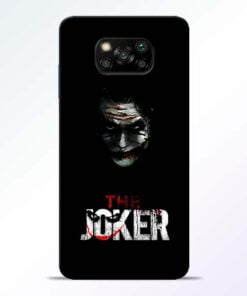 The Joker Poco X3 Back Cover - CoversGap