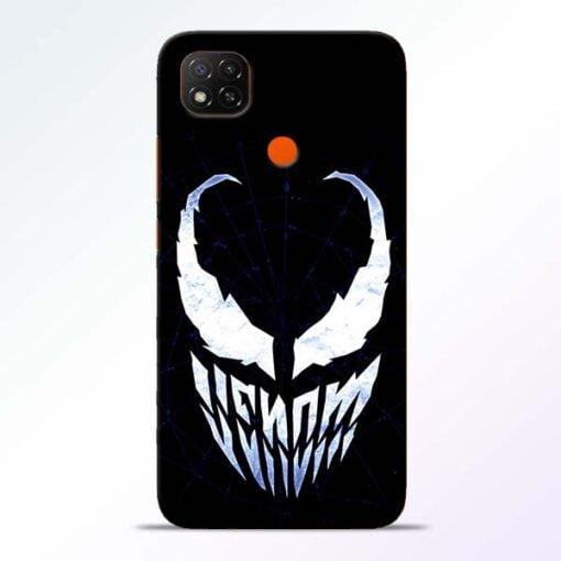 Venom Face Redmi 9 Back Cover - CoversGap