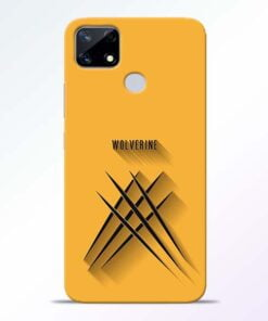 Wolverine Realme Narzo 20 Back Cover - CoversGap