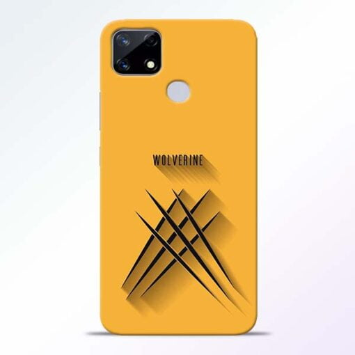 Wolverine Realme Narzo 20 Back Cover - CoversGap