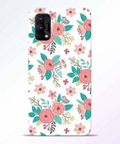 Antique Floral Realme 7 Pro Back Cover