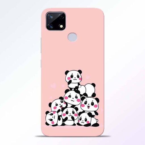 Babys Panda Realme Narzo 20 Back Cover