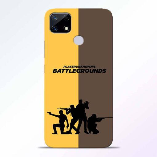 Battel Ground Realme Narzo 20 Back Cover