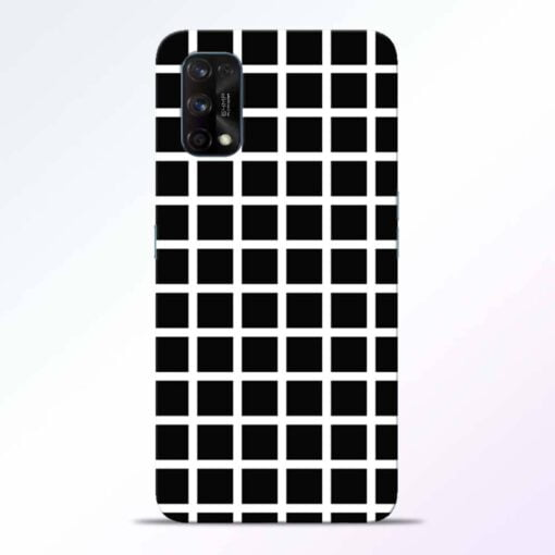 Black Tiles Realme 7 Pro Back Cover