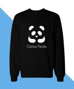 Caring Panda Women Sweatshirt