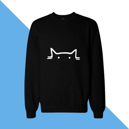 Cat Eye Women Sweatshirt