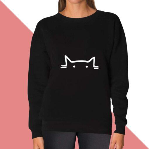 Cat Eye Sweatshirt for women