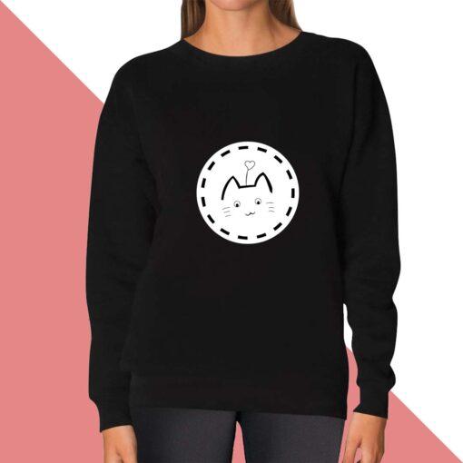 Cat Lover Sweatshirt for women