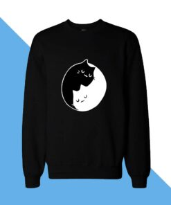 Cat Sleep Women Sweatshirt