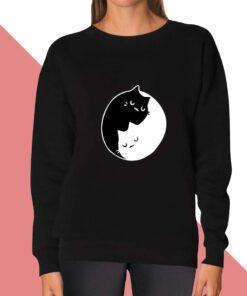 Cat Sleep Sweatshirt for women