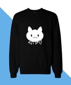 Cat With Arrow Women Sweatshirt