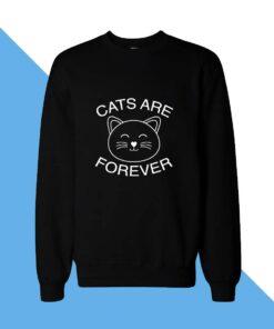 Cats Forever Women Sweatshirt