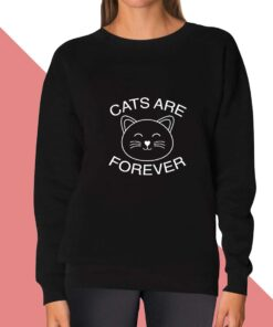 Cats Forever Sweatshirt for women
