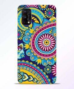 Colorful Mandala Realme 7 Pro Back Cover