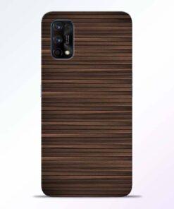 Dark Wood Realme 7 Pro Back Cover