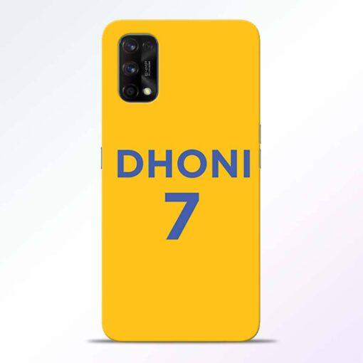 Dhoni 7 Realme 7 Pro Back Cover