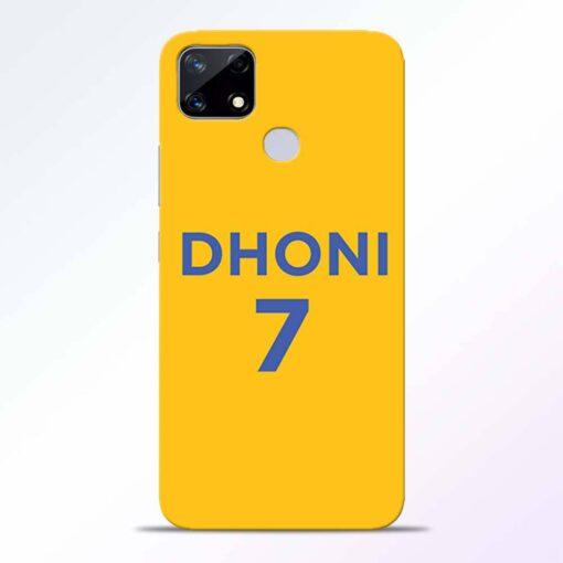 Dhoni 7 Realme Narzo 20 Back Cover