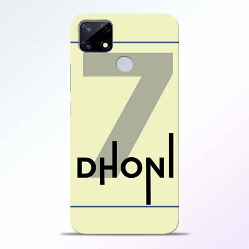 Dhoni Lover Realme Narzo 20 Back Cover