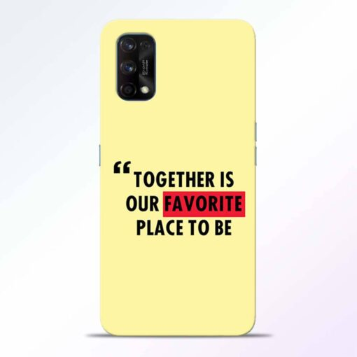 Favorite Place Realme 7 Pro Back Cover