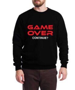 Game Over Sweatshirt for Men