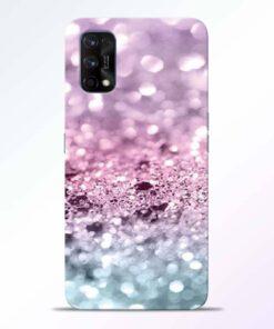 Glitter Printed Realme 7 Pro Back Cover