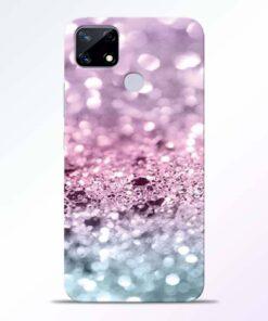 Glitter Printed Realme Narzo 20 Back Cover