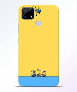 Hanging Minions Realme Narzo 20 Back Cover