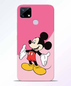 Happy Mickey Realme Narzo 20 Back Cover