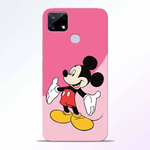 Happy Mickey Realme Narzo 20 Back Cover