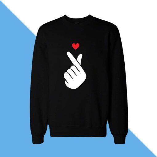 Heart Hand Women Sweatshirt