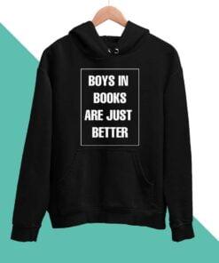 Boys Book Men Hoodies