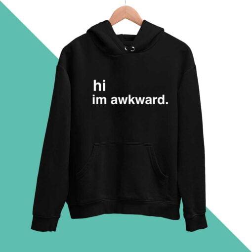 Awkward Men Hoodies