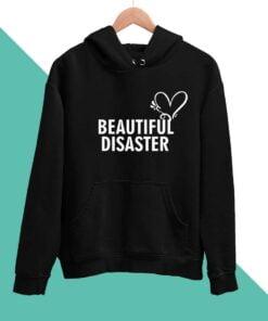 Beautiful Disaster Men Hoodies