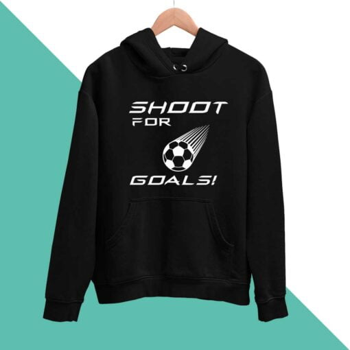 Goal Shooter  Men Hoodies