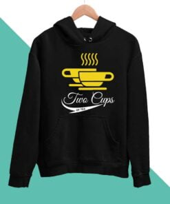 Two Cups Men Hoodies