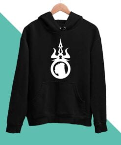 Mahadev Trishul Men Hoodies