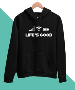 Life Good Men Hoodies