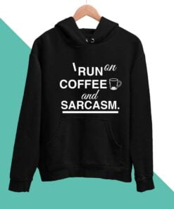 Coffee & Sarcasm Men Hoodies