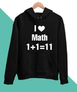 Math Lover Men Hoodies