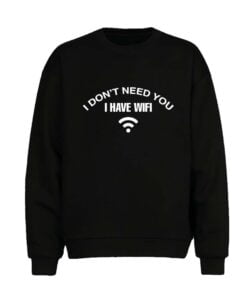 I Have Wifi Men Sweatshirt