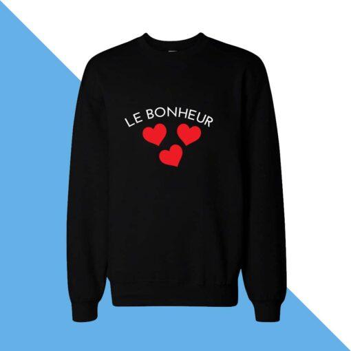 Le Bonheur  Women Sweatshirt