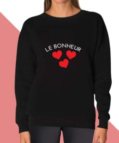 Le Bonheur  Sweatshirt for women