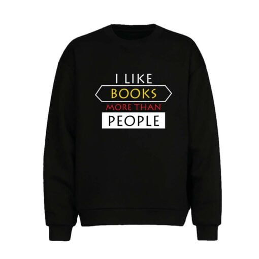 Like Books Men Sweatshirt