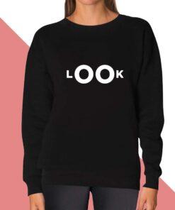 Look Sweatshirt for women
