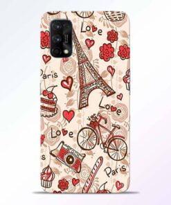 Love Paris Realme 7 Pro Back Cover