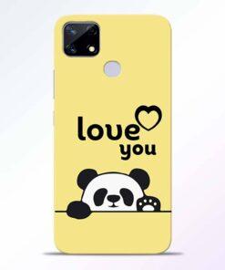 Love U Panda Realme Narzo 20 Back Cover