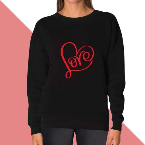 Love Sweatshirt for women