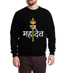 Mahadev Sweatshirt for Men