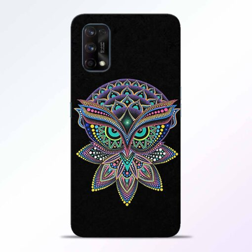 Mandala Owl Realme 7 Pro Back Cover
